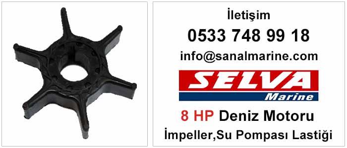 Selva 8 HP Deniz Motoru İmpeller Su Pompası Lastiği  500368